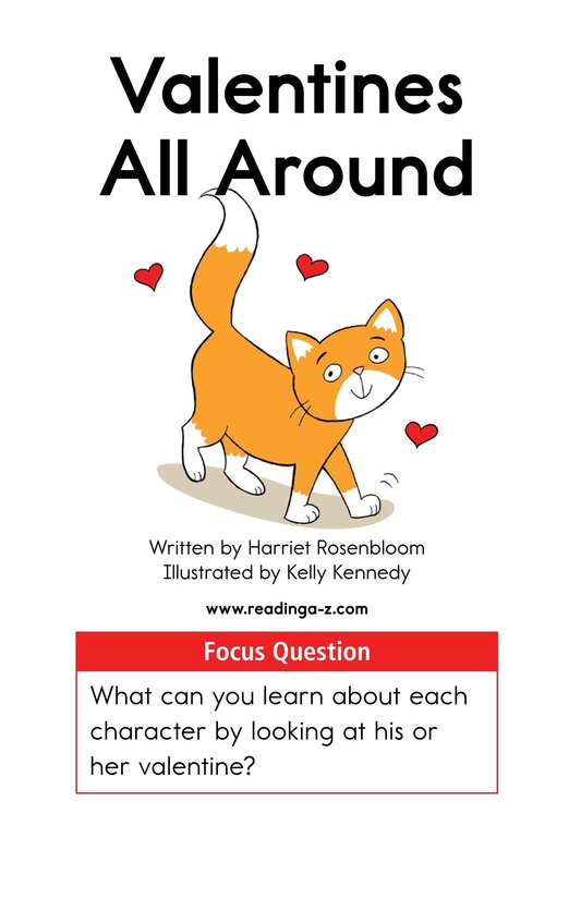 Book Preview For Valentines All Around Page 1