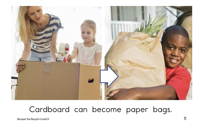 Book Preview For Because You Recycle Page 11