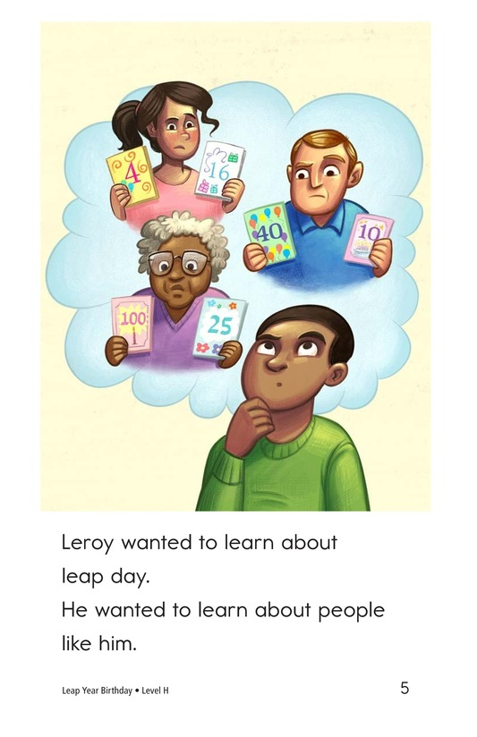 Book Preview For Leap Year Birthday Page 5