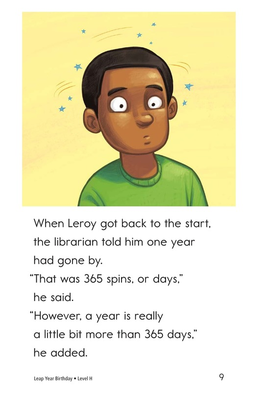 Book Preview For Leap Year Birthday Page 9