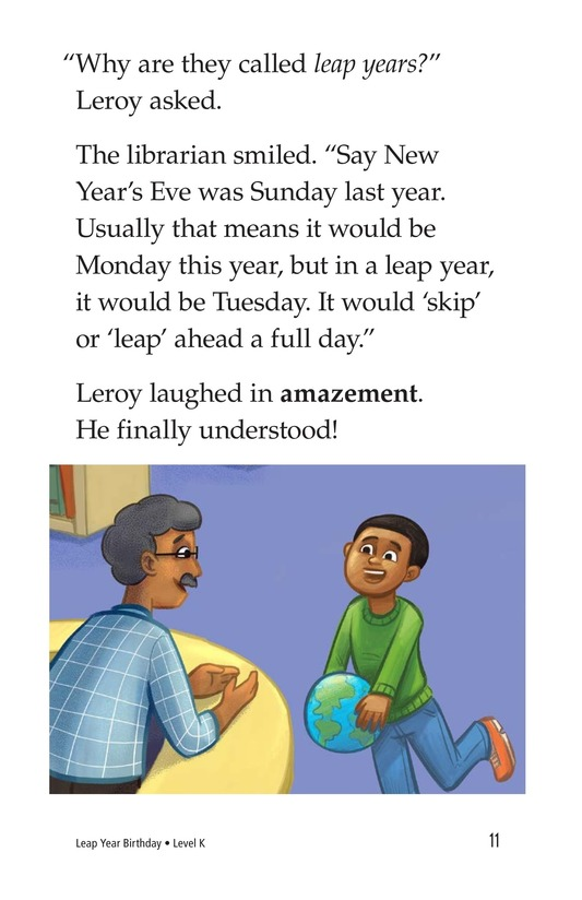 Book Preview For Leap Year Birthday Page 11