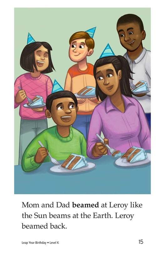 Book Preview For Leap Year Birthday Page 15