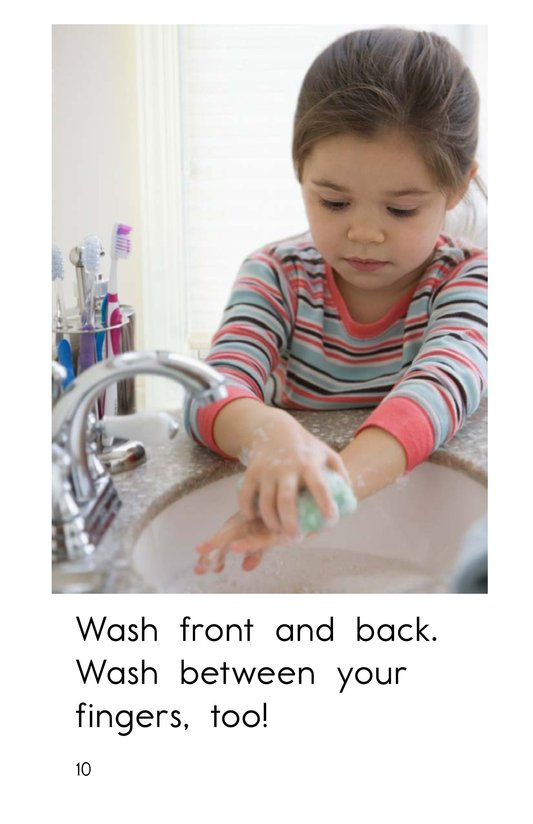 Book Preview For Wash Your Hands Page 10