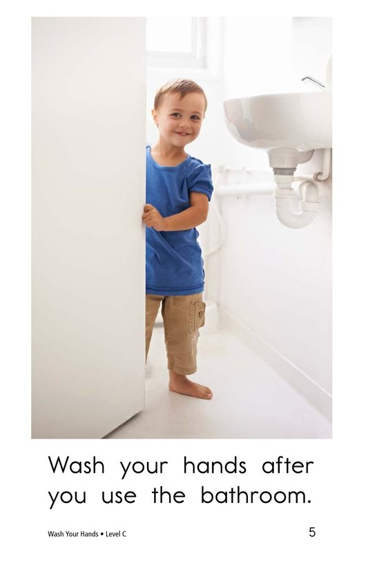 Book Preview For Wash Your Hands Page 5