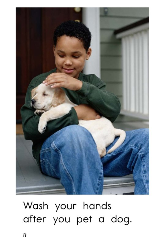 Book Preview For Wash Your Hands Page 8