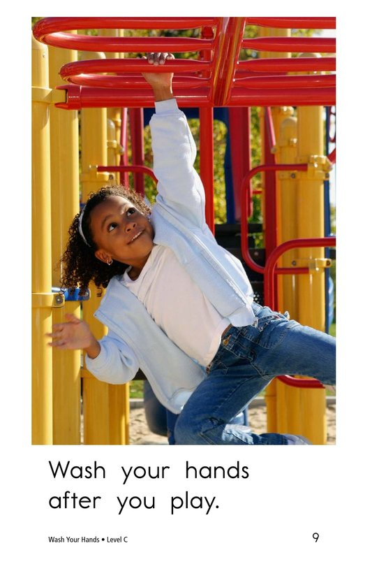 Book Preview For Wash Your Hands Page 9