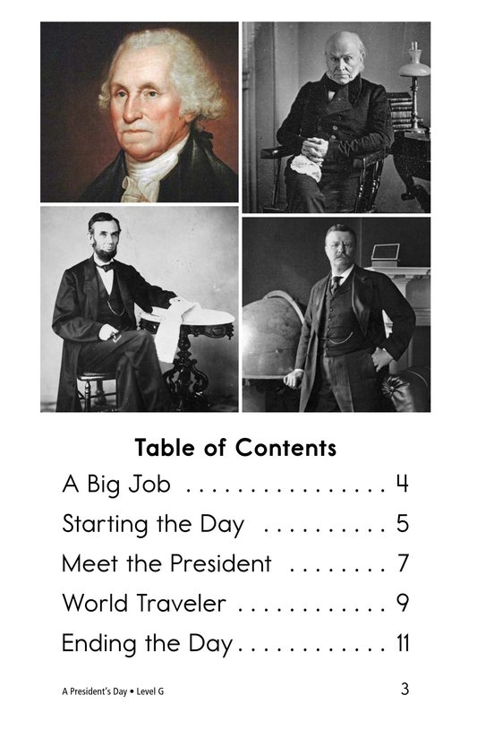 Book Preview For A President's Day Page 3