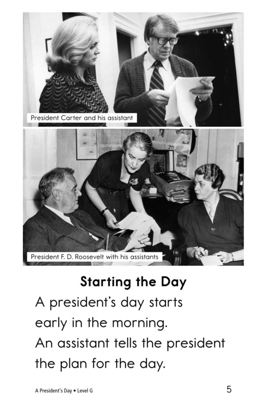 Book Preview For A President's Day Page 5