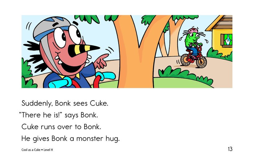 Book Preview For Cool as a Cuke Page 13