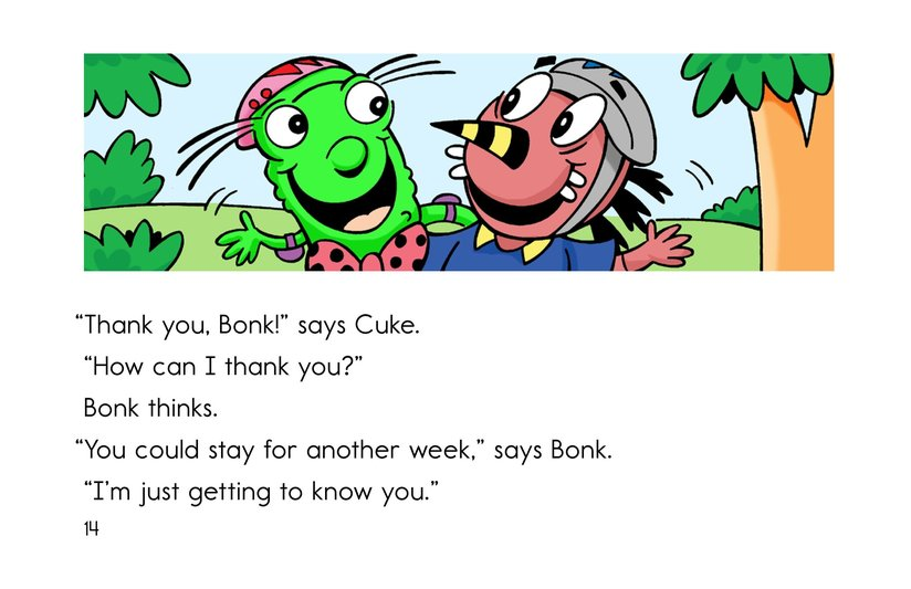 Book Preview For Cool as a Cuke Page 14