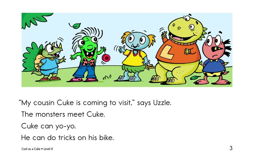 Book Preview For Cool as a Cuke Page 3