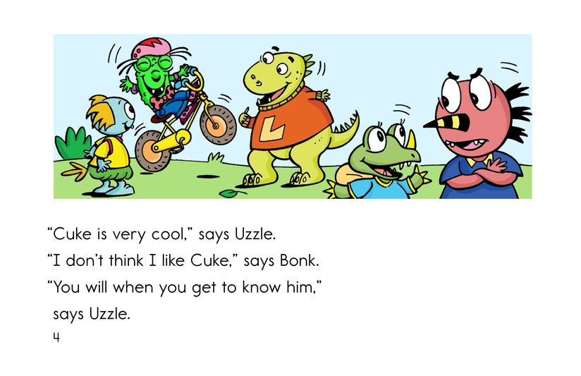 Book Preview For Cool as a Cuke Page 4