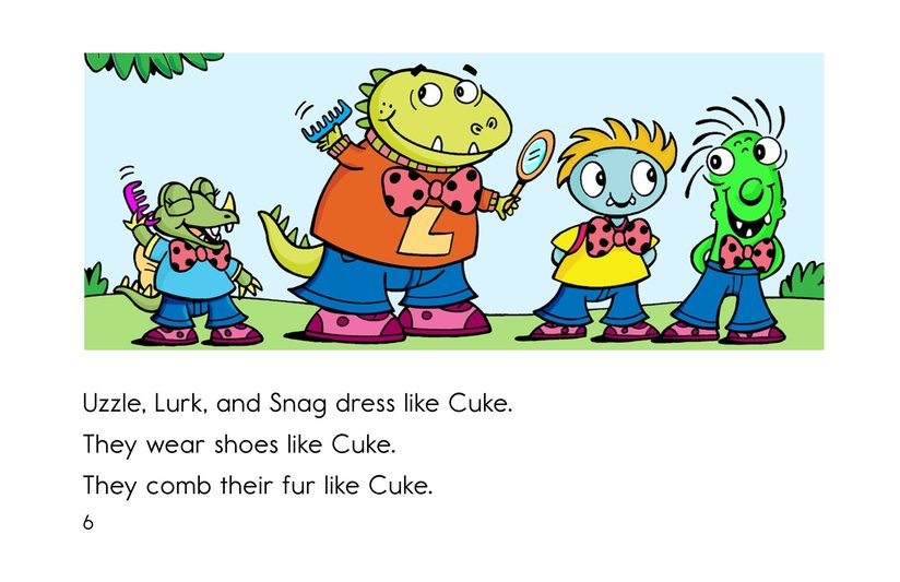 Book Preview For Cool as a Cuke Page 6