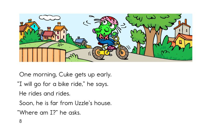 Book Preview For Cool as a Cuke Page 8