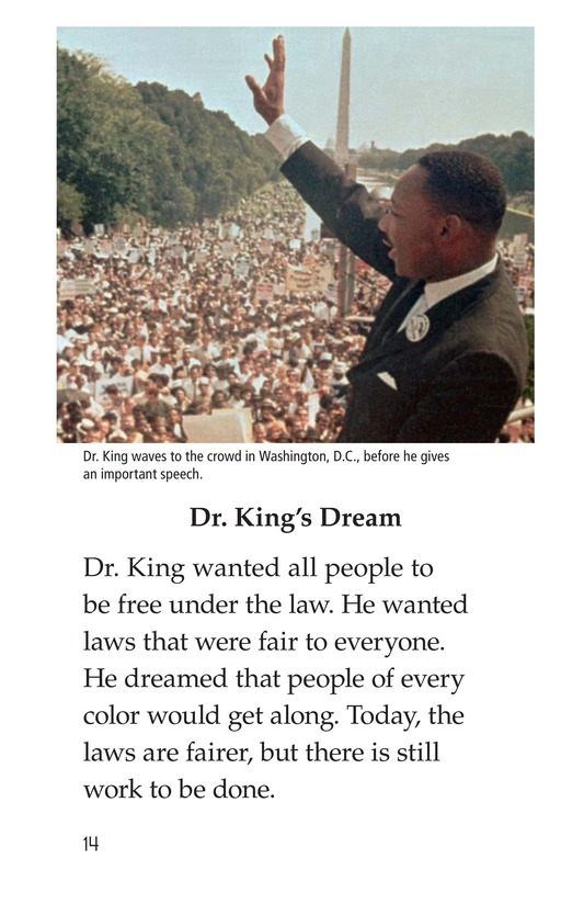 Book Preview For Dr. King's Memorial Page 14