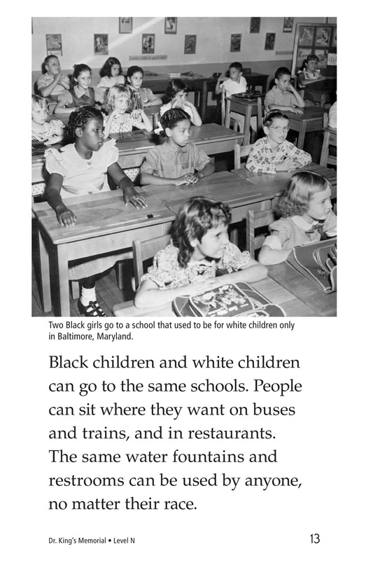 Book Preview For Dr. King's Memorial Page 13