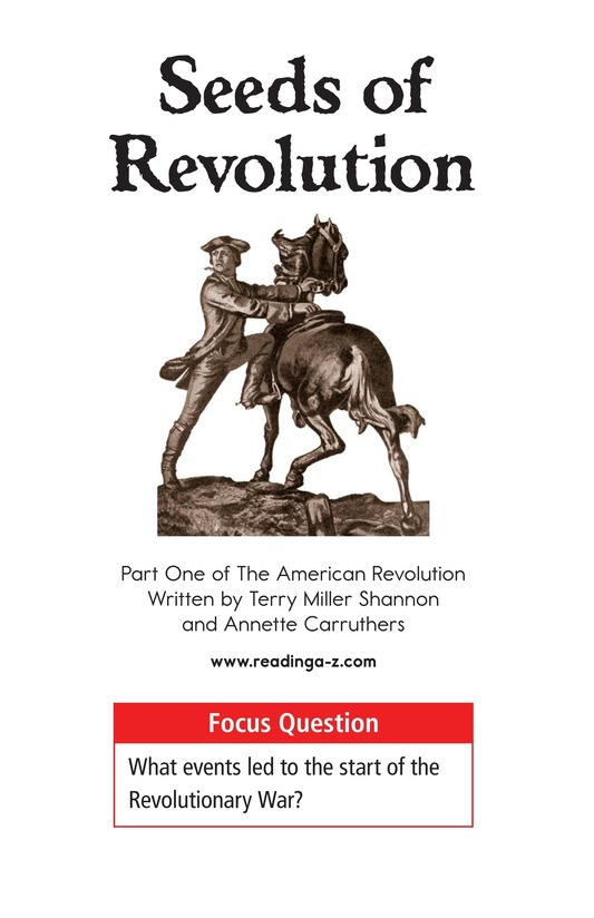 Book Preview For Seeds of Revolution Page 1