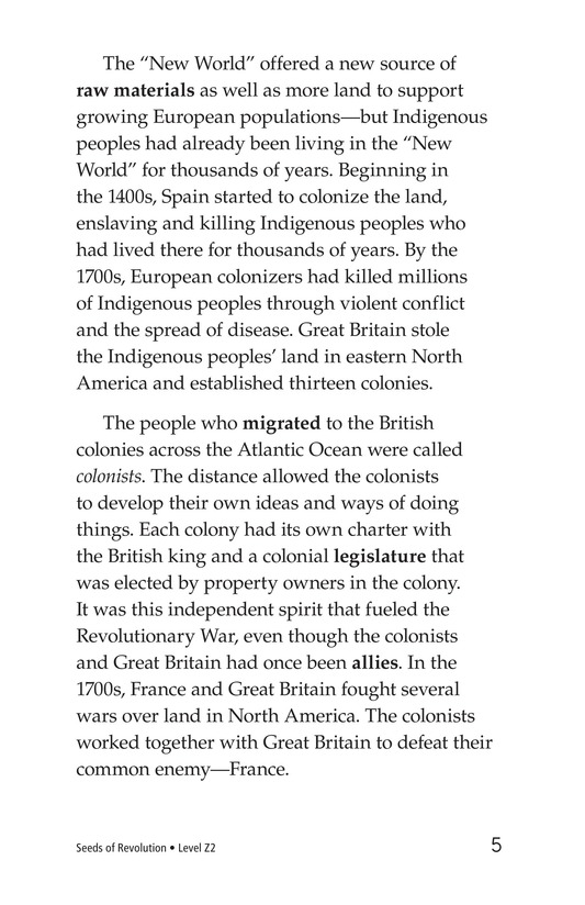 Book Preview For Seeds of Revolution Page 5