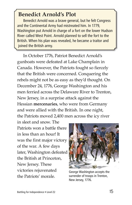 Book Preview For Battling for Independence Page 15