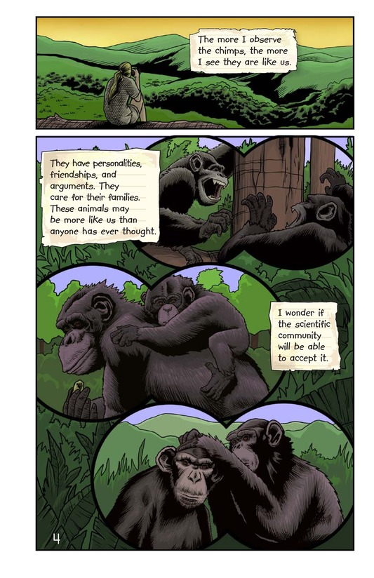 Book Preview For Jane and the Chimpanzees Page 5