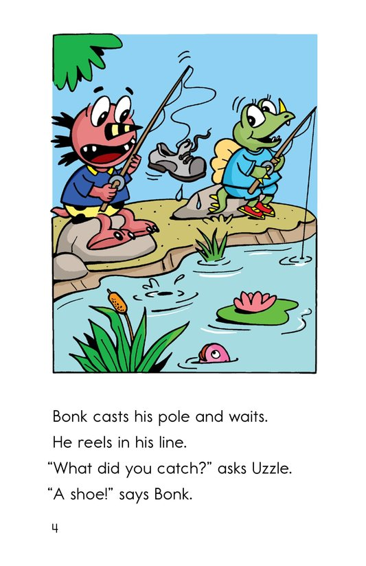 Book Preview For A Monster Fish Tale Page 4