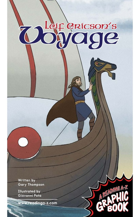 Book Preview For Leif Ericson's Voyage Page 1
