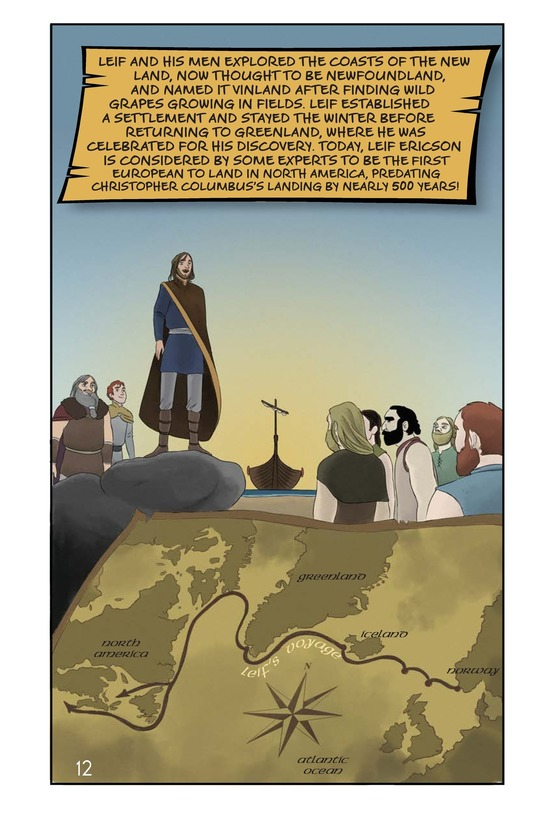 Book Preview For Leif Ericson's Voyage Page 13