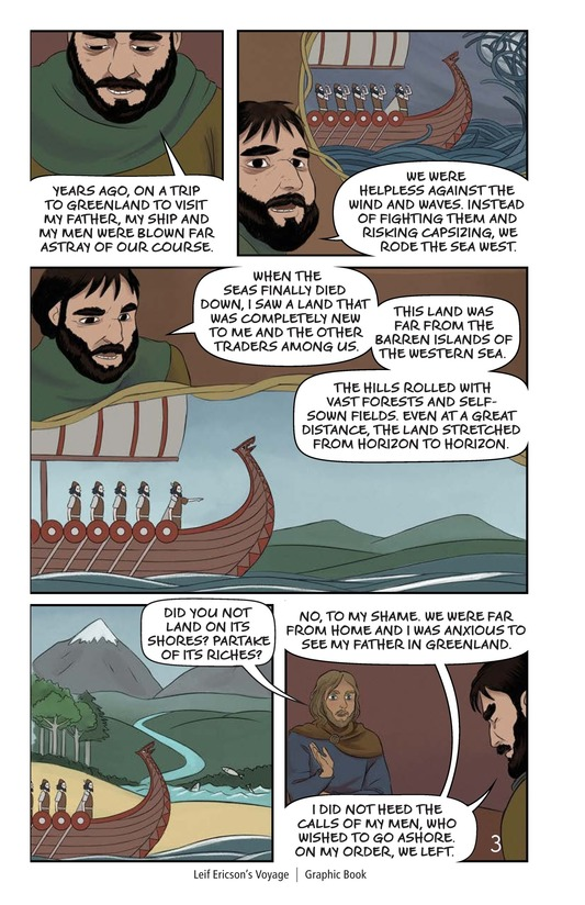 Book Preview For Leif Ericson's Voyage Page 4