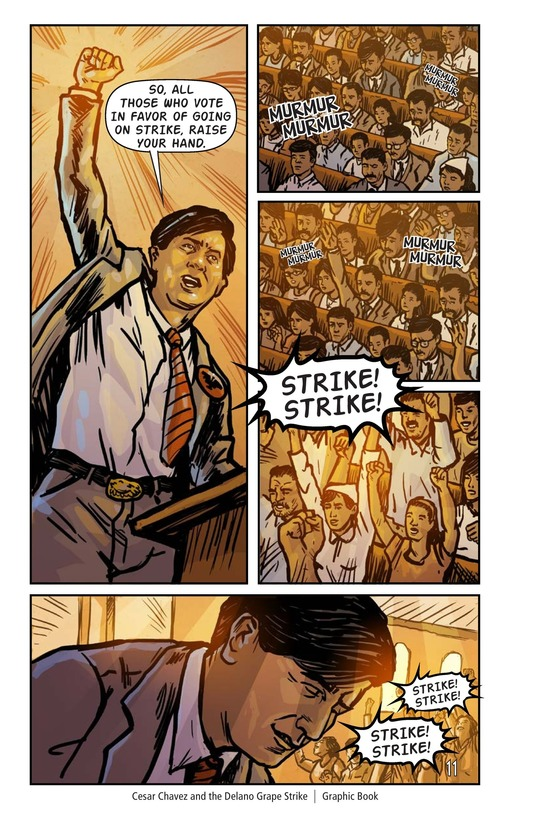 Book Preview For Cesar Chavez and the Delano Grape Strike Page 12