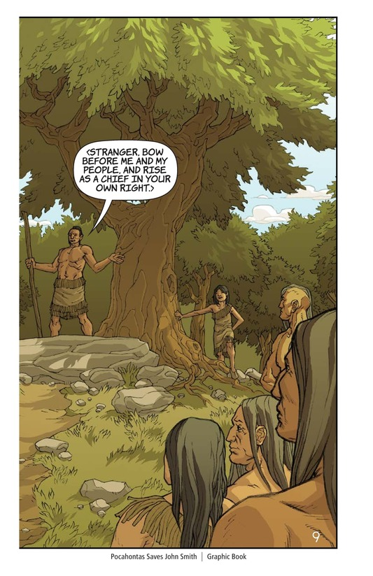 Book Preview For Pocahontas Saves John Smith Page 10