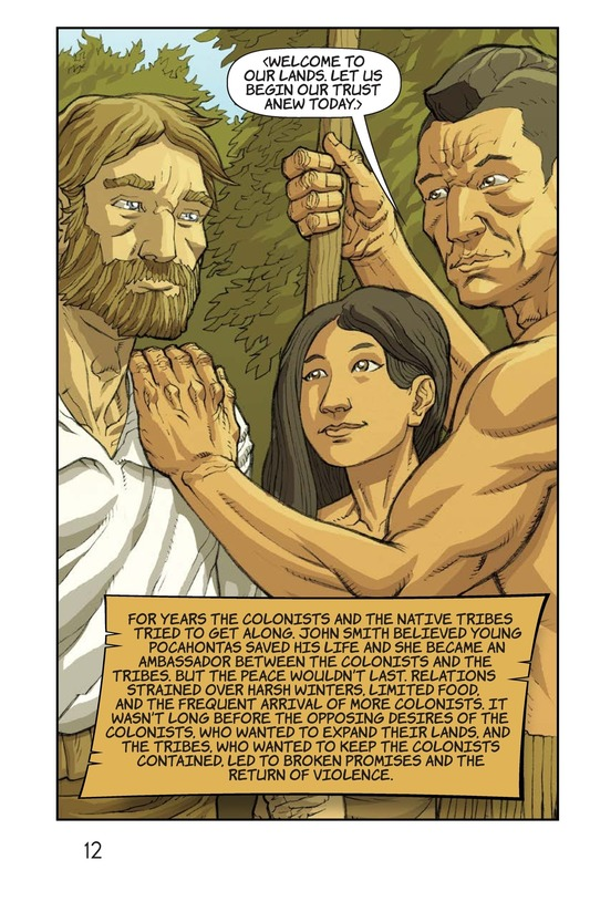 Book Preview For Pocahontas Saves John Smith Page 13