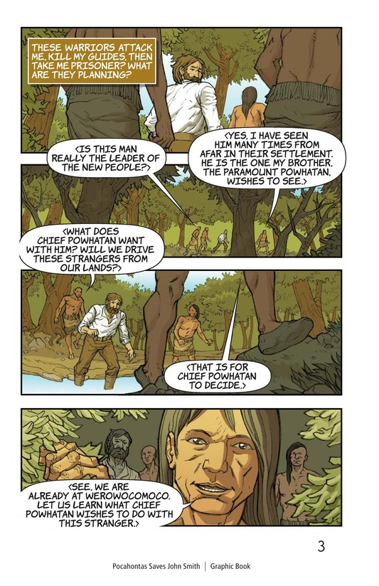 Book Preview For Pocahontas Saves John Smith Page 4