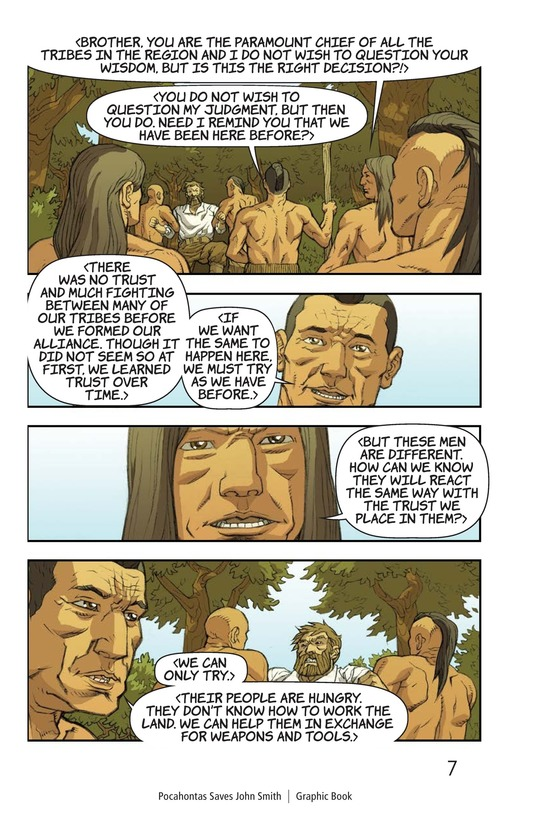 Book Preview For Pocahontas Saves John Smith Page 8