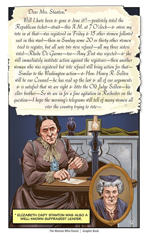 Book Preview For The Woman Who Dared Page 10