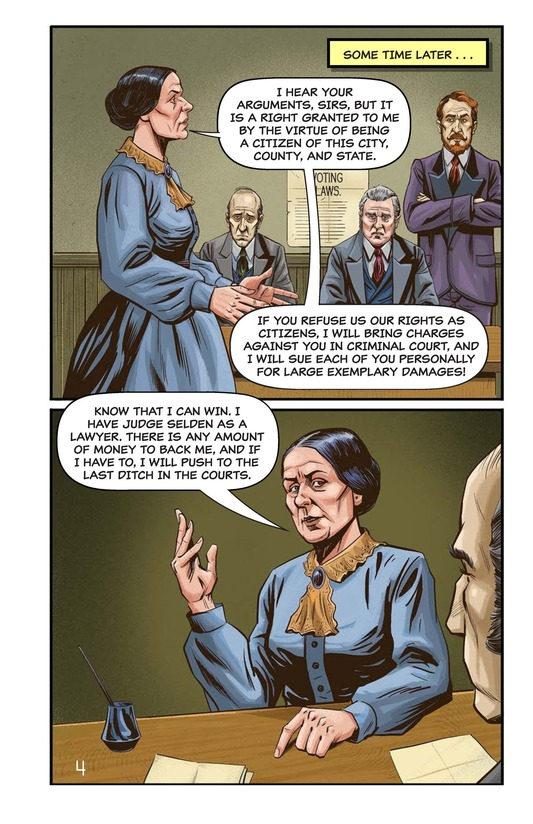Book Preview For The Woman Who Dared Page 5