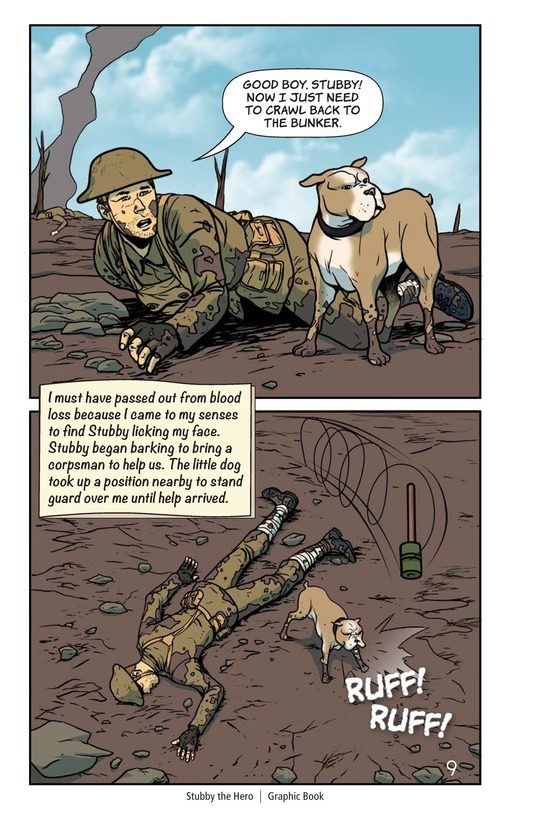 Book Preview For Stubby the Hero Page 10