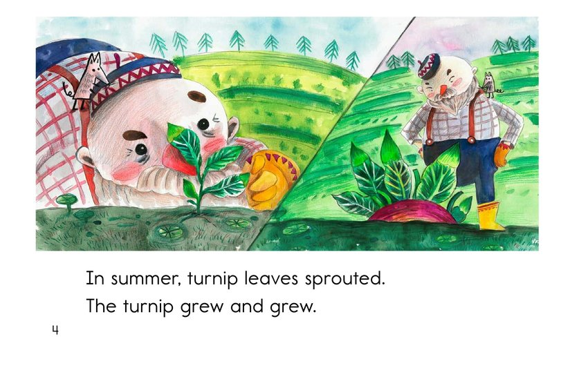 Book Preview For The Giant Turnip Page 4