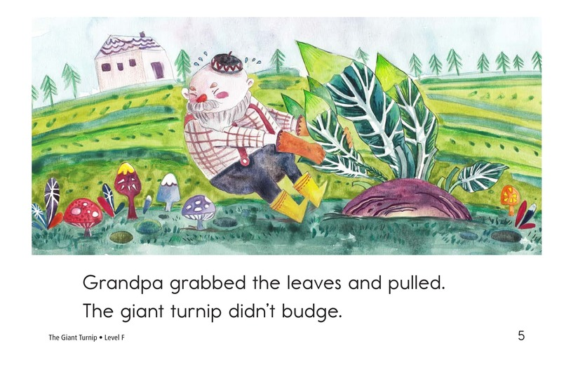 Book Preview For The Giant Turnip Page 5