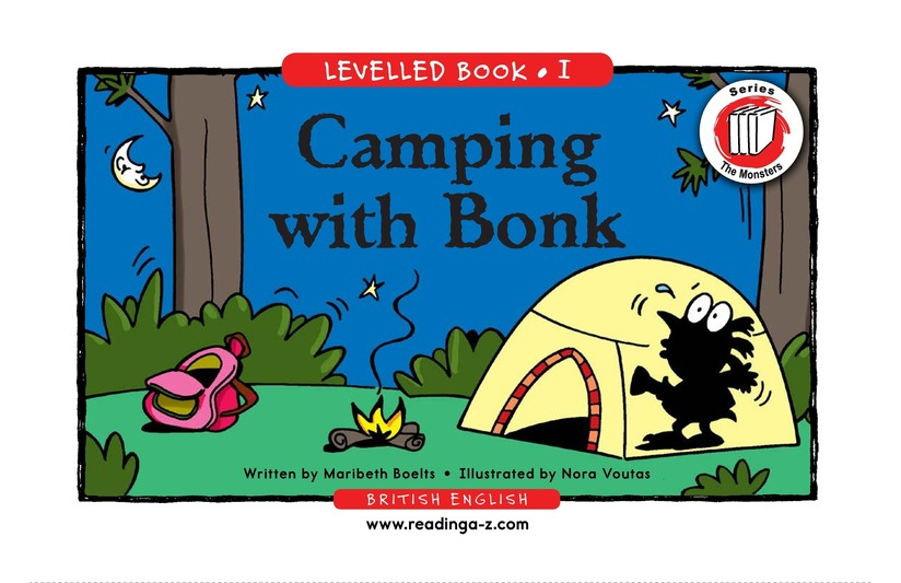 Book Preview For Camping with Bonk Page 1