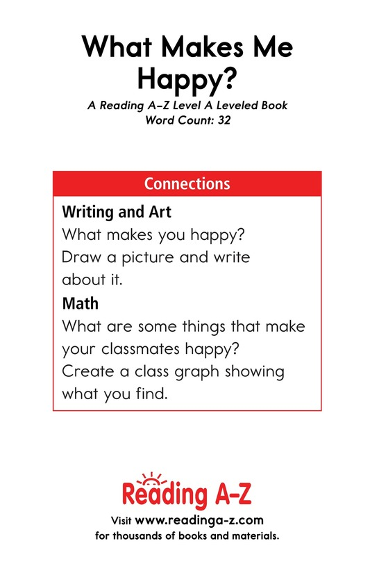 Book Preview For What Makes Me Happy? Page 11