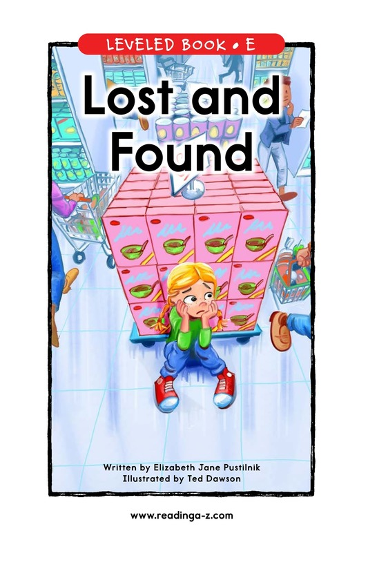 Book Preview For Lost and Found Page 0