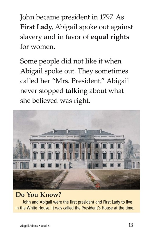 Book Preview For Abigail Adams Page 13