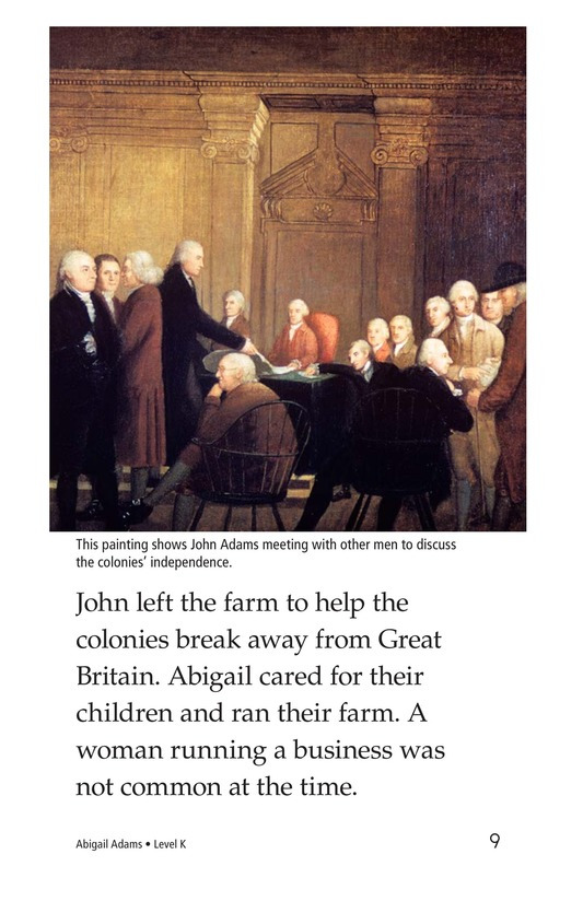 Book Preview For Abigail Adams Page 9