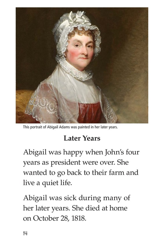 Book Preview For Abigail Adams Page 14