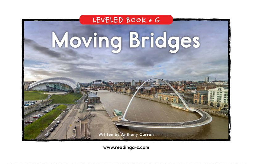 Book Preview For Moving Bridges Page 0