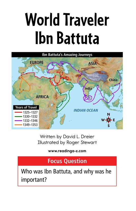 Book Preview For World Traveler Ibn Battuta Page 1