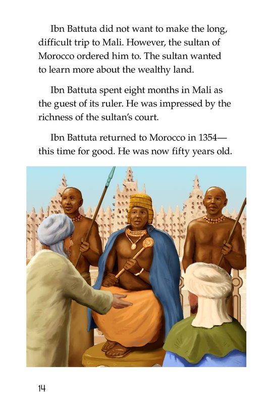 Book Preview For World Traveler Ibn Battuta Page 14