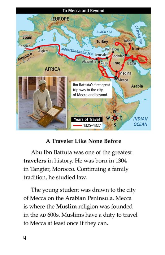 Book Preview For World Traveler Ibn Battuta Page 4