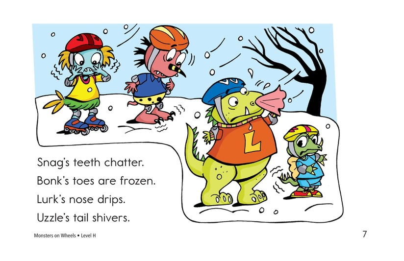 Book Preview For Monsters on Wheels Page 7