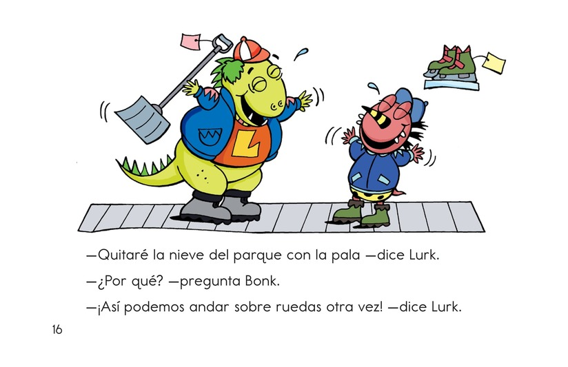Book Preview For Monsters on Wheels Page 16